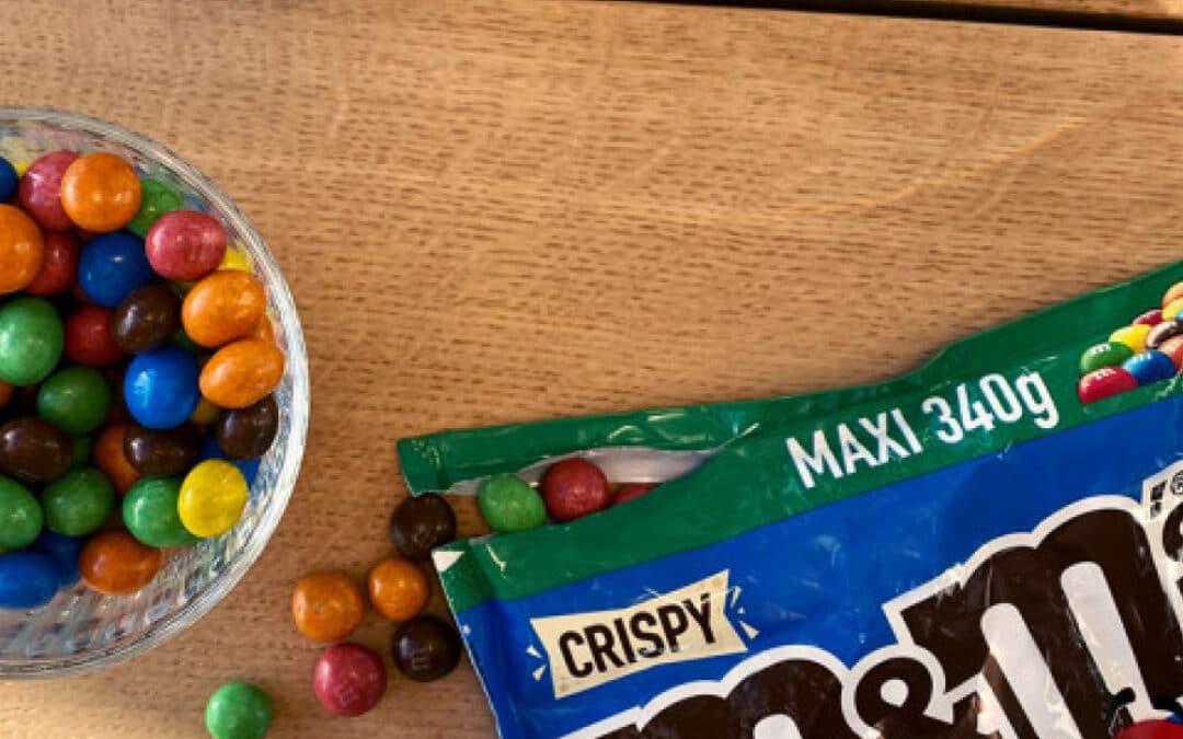 M&M's crispy – NORMAL