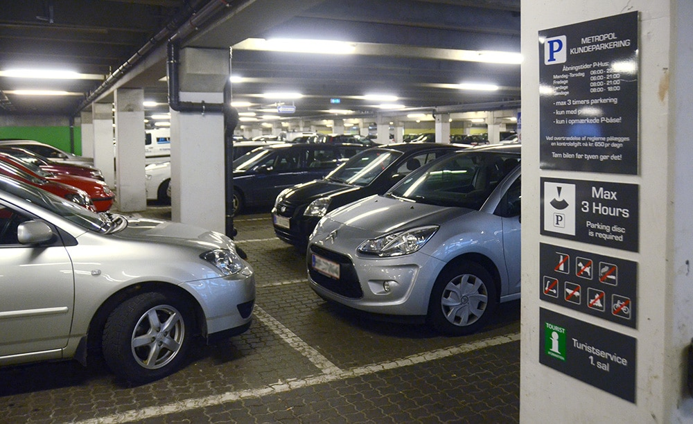 parkering biler